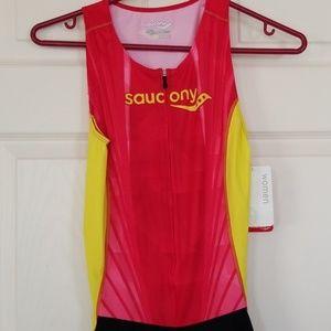 Saucony women's triathlon suit